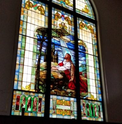 church stained glass restoration by mccully art glass & restorations lafayette indiana