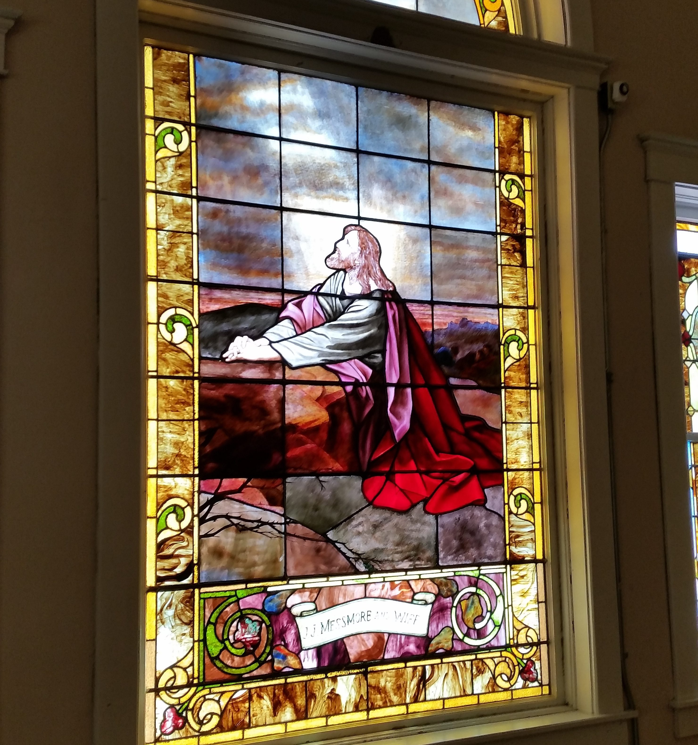 church glass preservation by the lead glass experts mccully art glass & restorations lafayette indiana