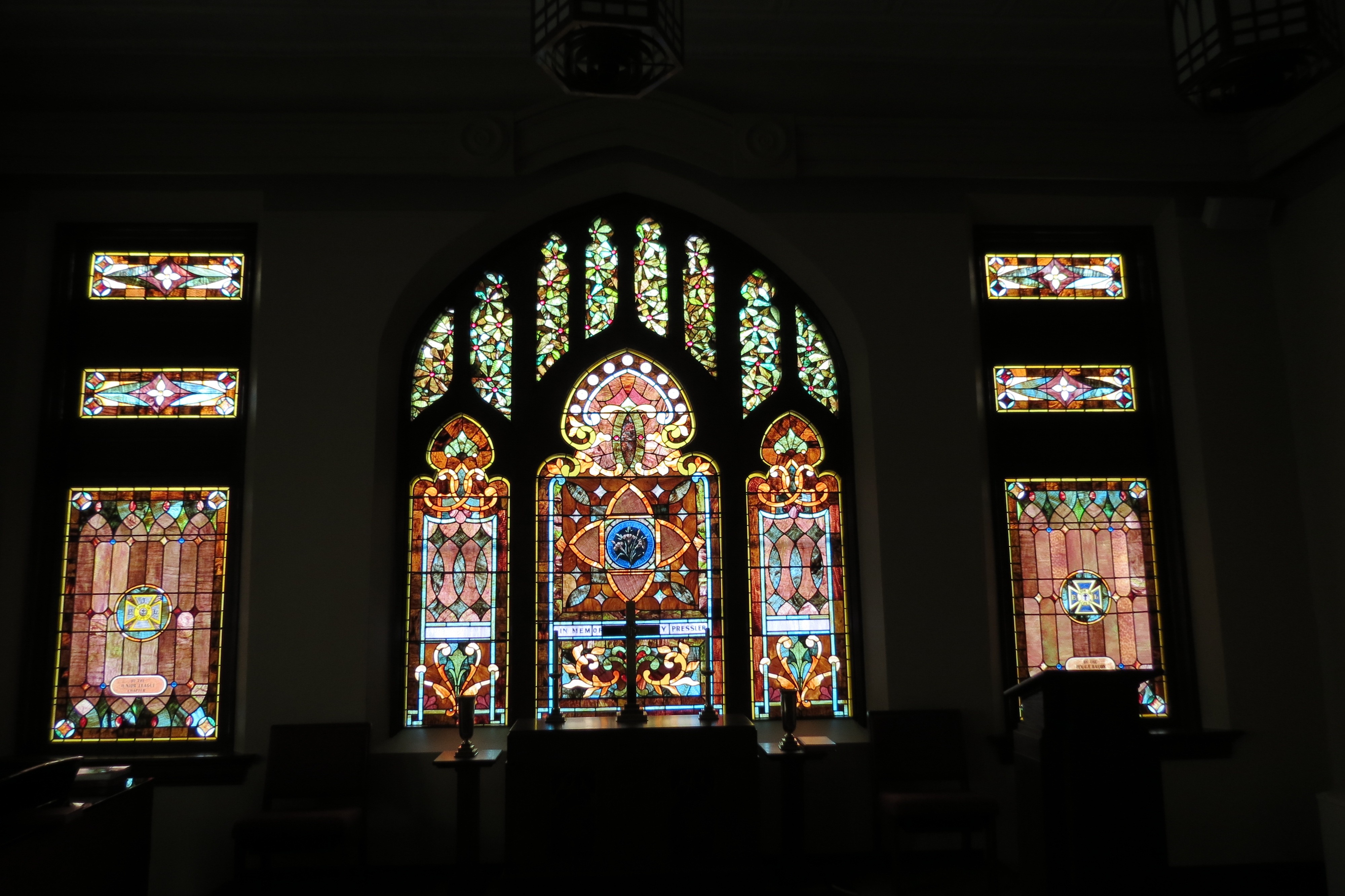 church stained glass restoration & repair mccully art glass & restorations lafayette indiana