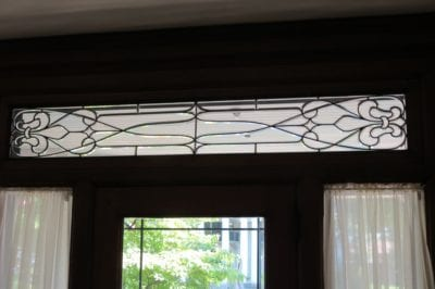 unique leaded glass repair by mccully art glass & restorations lafayette indiana
