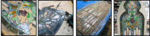 onsite and offsite stained glass repairs and restoration by mccully lafayette indiana